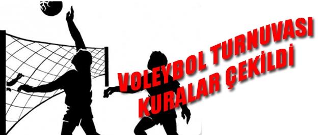 VOLEYBOL TURNUVA FİKSTÜRÜ